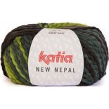 New Nepal 207 - Azul oscuro-Pistacho-Verde