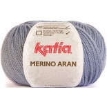 Merino Aran 59 Azul Claro