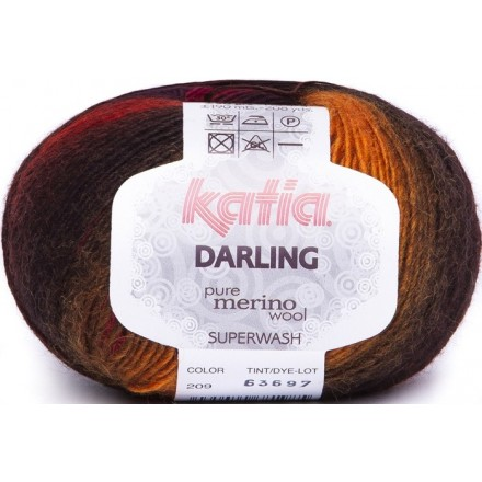 Darling 209 Rojo/Naranja/Negro