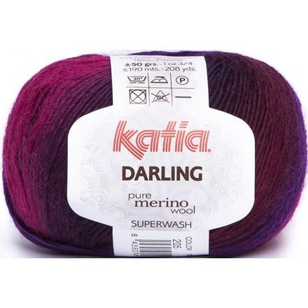 Darling 205 Fucsia/Morado/Negro