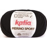 Merino Sport 2 Schwarz