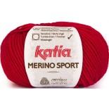 Merino Sport 4 Rosso