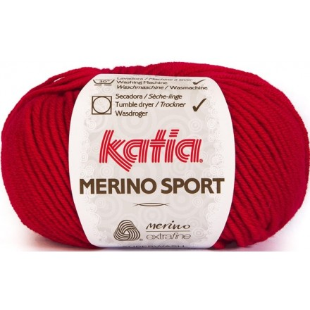 Merino Sport 4 Rojo