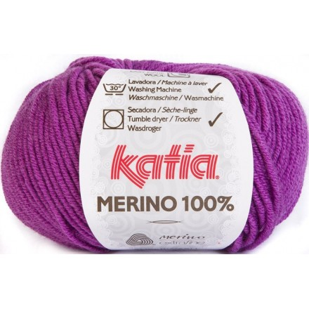 Merino 100% 42 Lila