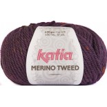 Merino Tweed 406 Morado
