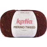 Merino Tweed 407 Burdeos