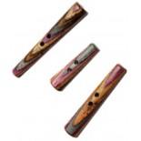 Pulsante Tapered Lilac - 3 dimensioni