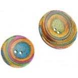 Curved Round Button Classic - 2 sizes