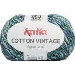 Cotton Vintage 53 Azul/Verde