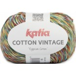 Cotton Vintage 58 Turquesa/Pisacho/Naranja