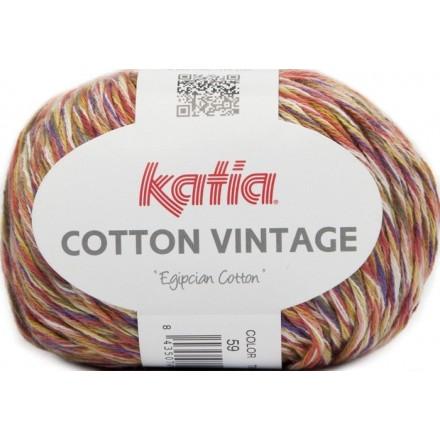 Cotton Vintage 59 Mostaza/Caldera/Lima