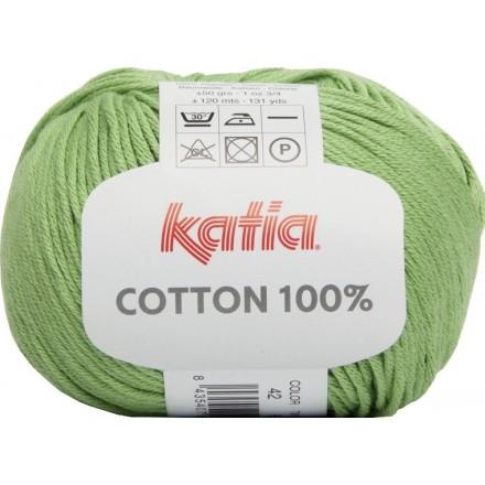 Cottón 100% 42 Verde Claro