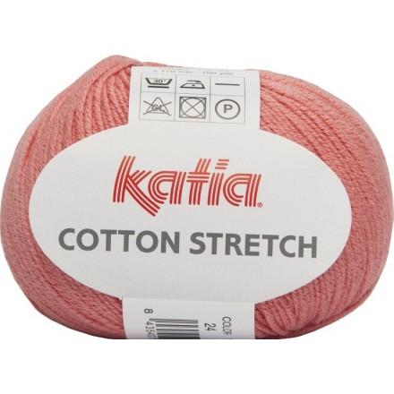 Cotton Stretch 24 Salmón