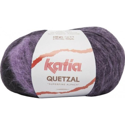 Quetzal 80 Lila/Negro