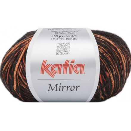 Mirror 71 - Negro-Naranja
