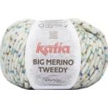 Big Merino Tweedy 804 - Blanco-Azul-Verde