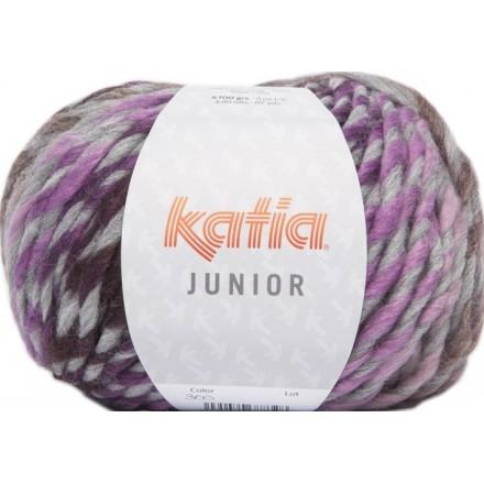 Junior 300 - Gris-Blanco-Lila-Marrón
