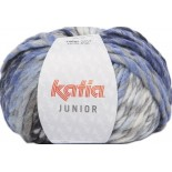Junior 301 - Gris-Blanco-Azul-Negro