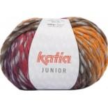 Junior 303 - Gris-Naranja-Rojo