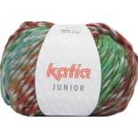 Junior 305 - Gris-Verde-Turquesa -Rojo