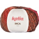 Inca 109 - Naranja-Granate-Gris