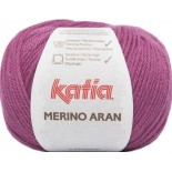 Merino Aran 75 - Fucsia oscuro