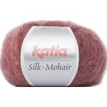 Silk-Mohair 710 - Granate-Rojo-Burdeos-Negro