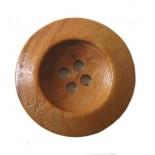 Botón Redondo Madera 28mm.