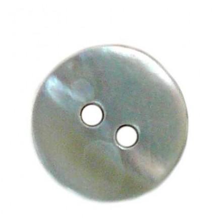 Botón Redondo Nácar 10mm.