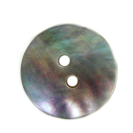 Botón Redondo Nácar 18mm.
