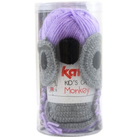 KID'S CAP MONKEY - 81 Lila