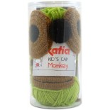KID'S CAP MONKEY - 83 Pistacho