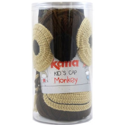 KID'S CAP MONKEY - 84 Marron