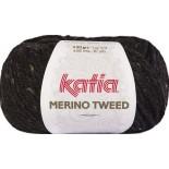 Merino Tweed 309 Negro - Tostado