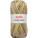 Planet Print 61 - Verde-Beige-Mostaza