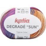 Degrade Sun 92 - Crudo-Turquesa -Verde-Rosa-Naranja