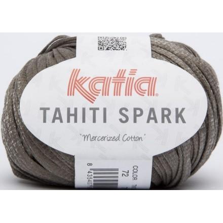 Tahiti Spark 72 - Marrón-Plata