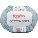 Cottón 100% 48 - Azul agua