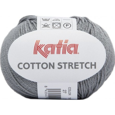 Cotton Stretch 27 - Gris