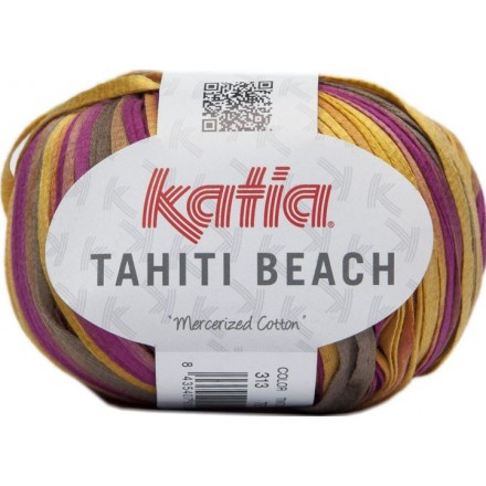Tahiti Beach 313 - Beige-Violeta-Mostaza