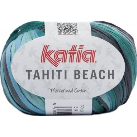 Tahiti Beach 314 - Gris-Esmeralda-Turquesa-Agua