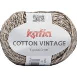 Cotton Vintage 61 - Marrón-Beige