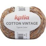 Cotton Vintage 60 - Naranja-Marrón-Mostaza