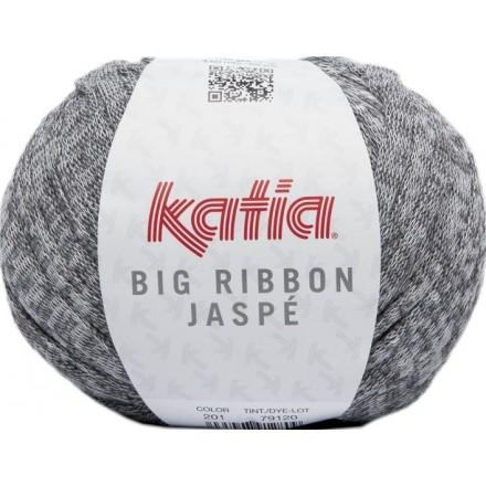 Big Ribbon Jaspe 201 - Gris-Blanco
