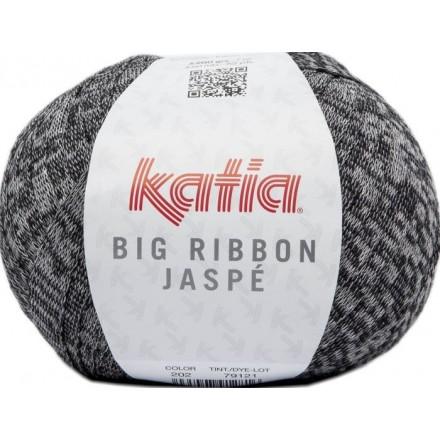 Big Ribbon Jaspe 202 - Negro-Blanco