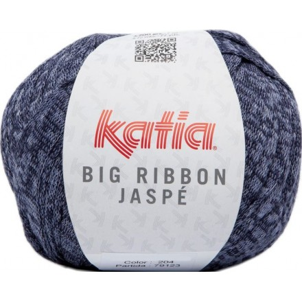 Big Ribbon Jaspe 204 - Azul oscuro-Tejano