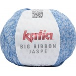 Big Ribbon Jaspe 209 - Azul celeste-Blanco