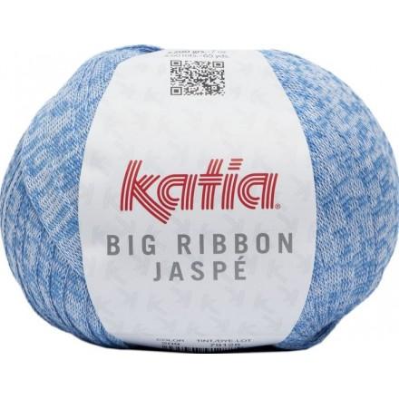 Big Ribbon Jaspe 209 - Azul celeste-Blanco