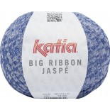 Big Ribbon Jaspe 210 - Azul-Blanco