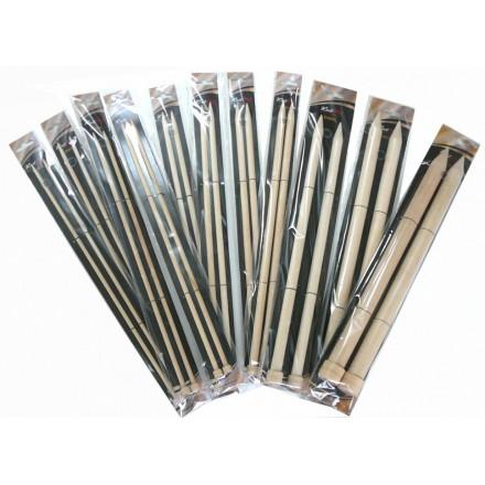 Agujas de Abedul KnitPro Basix 40cm. de 5,5 a 25mm.
